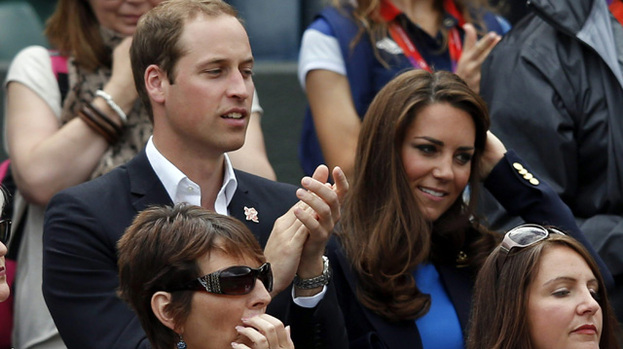 Game, set and match: Prince William and Duchess Kate cheered Andy Murray to victory