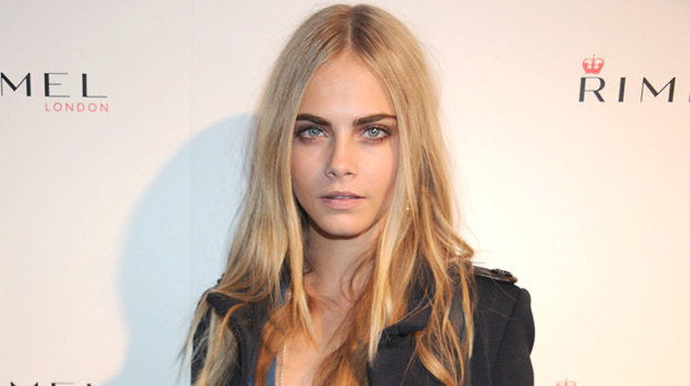 Blonde ambition: Cara Delevigne might be in for a birthday treat from Harry Styles