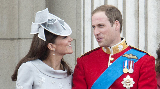 Domestic bliss: Kate Middleton and Prince William love nothing more than spending time at home together