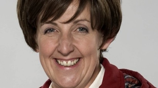 Julie Hesmondhalgh: Taking a break from the cobbles.