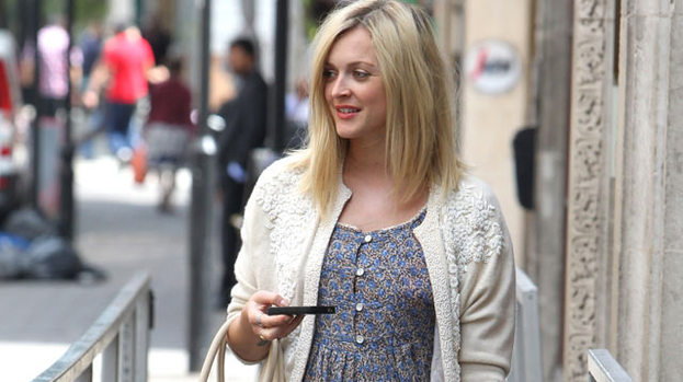 Yummy-mummy-to-be: Fearne is pregnant!