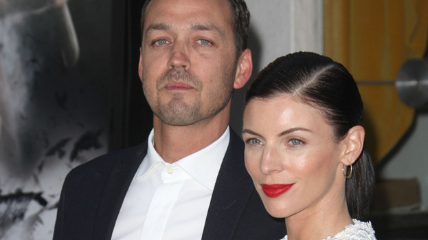 Happier times: Rupert Sanders and Liberty Ross at the Snow White and the Huntsman premiere in LA in May