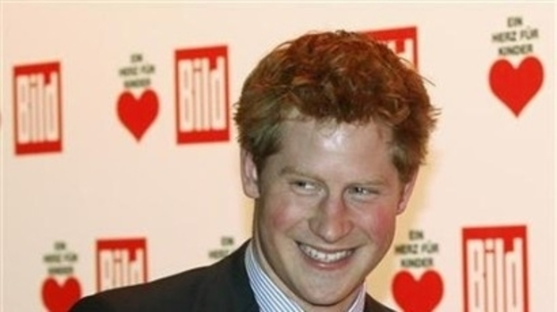 Red hot: Prince Harry has landed himself a striking new squeeze in Florence Brudenell-Bruce