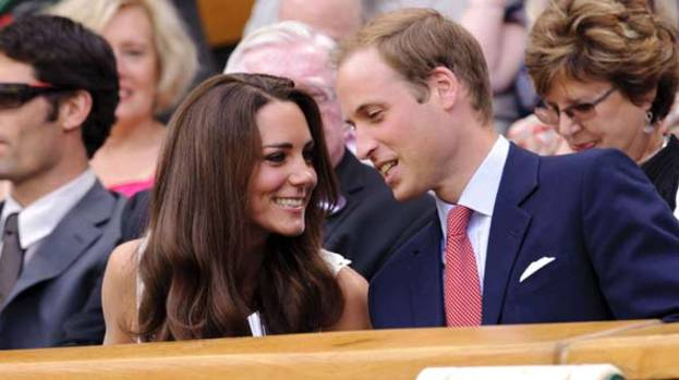 So in Love: Kate and William prove a hit at Wimbledon