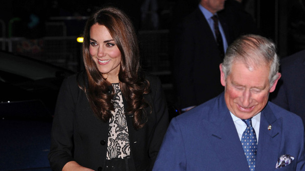 Picture perfect: Kate and Prince Charles are believed to be planning a special 30th present for Prince William