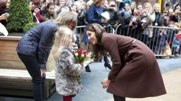 The 'pretty' Princess: Kate delights children at Alder Hey hospital