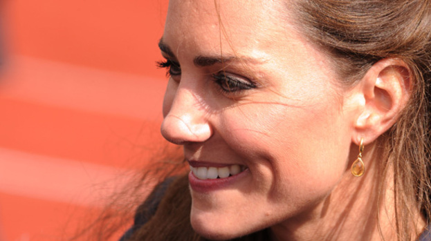 Kate Middleton gets pampered