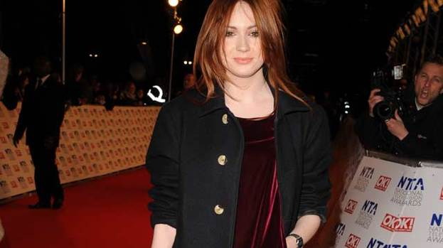 Drama, drama! Karen Gillan won Best Female Drama Performance at the 17th National Television Awards