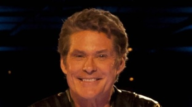 David Hasselhoff: Full of Glee!