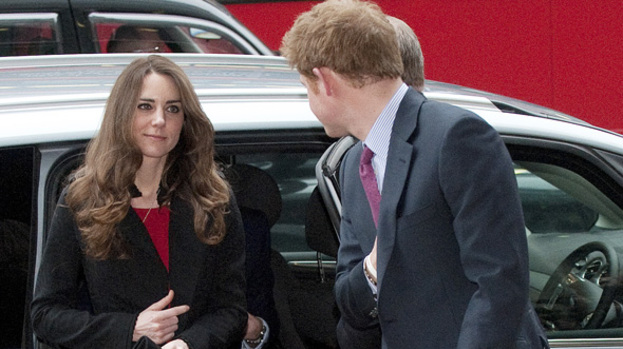 Happy families: Harry speaks fondly of Kate