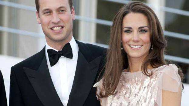 Christmas cracker: the Duke and Duchess of Cambridge are in for a packed festive season
