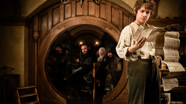 Bilbo Baggins: Martin Freeman stars as the hobbit in new movies