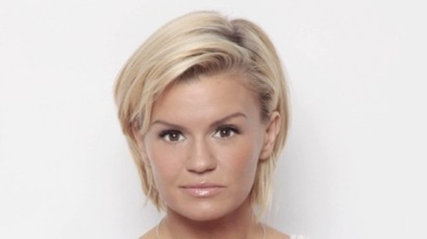 Kerry Katona: Frightened by stalker watching her dress.