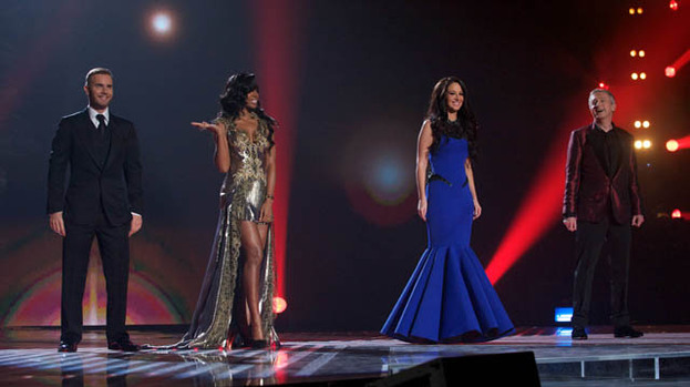 Fashion fix: Kelly Rowland and Tulisa Contostavlos kicked off The X Factor Final in style