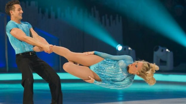 A-head of the game: Laura's headbanger stuns on DOI