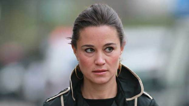 Cheer up Pip: Pippa Middleton is said to be feeling the strain of being the sister of the Duchess of Cambridge