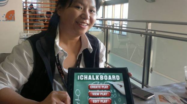 American football coaching?: There's an app for that says Kate Ho