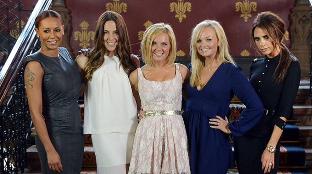 Spice it up: The Spice Girls will perform at the Olympics Closing Ceremony