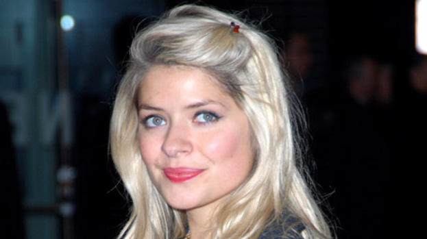 Overwhelmed host Holly Willoughby