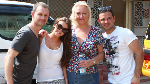 Four of the Corrie cast flew to Kenya to educate the locals
