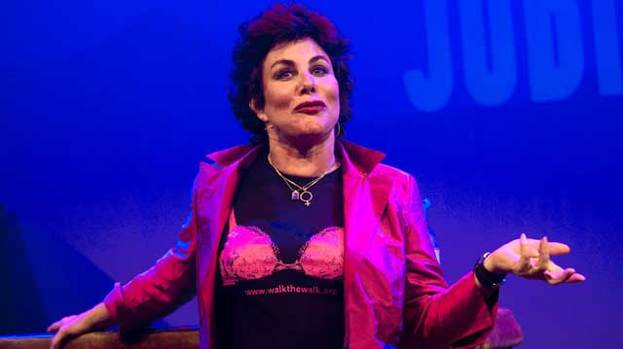 Bra-vo: Ruby Wax will be putting in Edinburgh appearance for stand-up competition