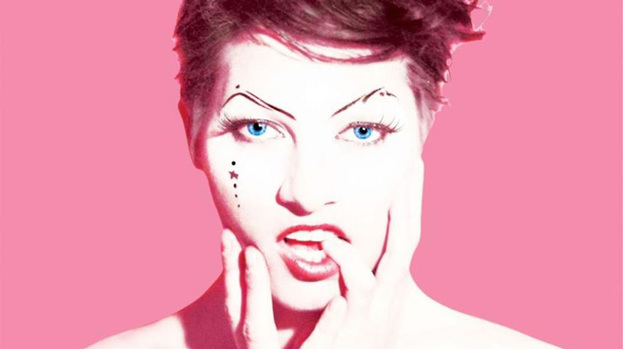 Pretty in Pink: Amanda Palmer on Theatre Is Evil cover