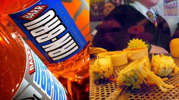 Bonnie Scotland: Irn Bru and deep-fried Mars bars