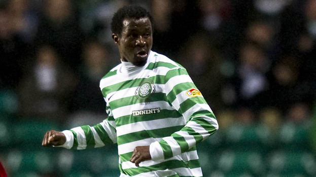 Efe Ambrose, Celtic 4-1 Raith Rovers, September 2012.
