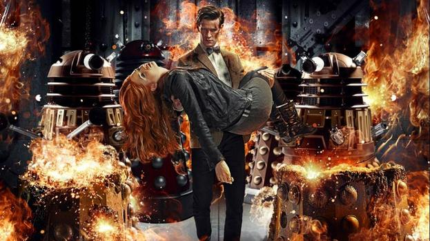 Amy Pond set for explosive Doctor Who exit