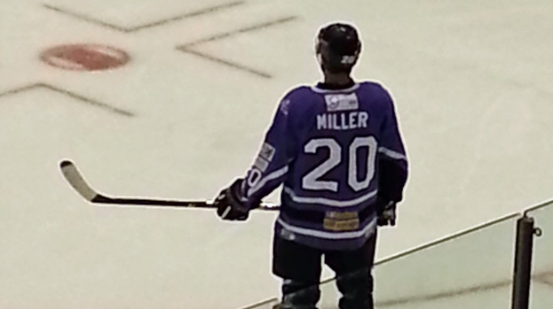 Drew Miller, Braehead Clan, October 2012.