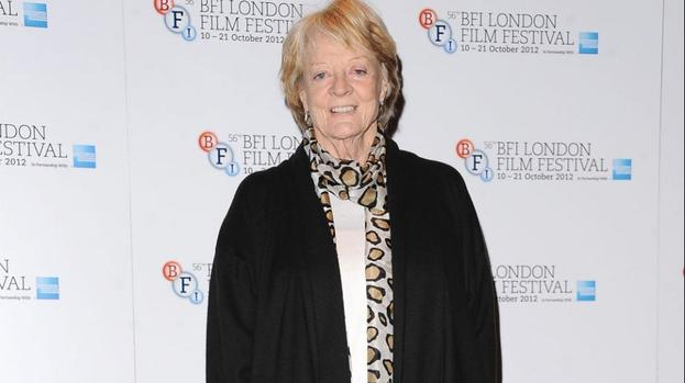 Maggie Smith 'baffled' about lack of elderly films
