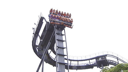 Oblivion is one of the scariest rollercoasters at Alton Towers