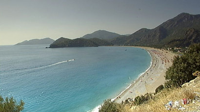 The south west coast of Turkey is filled with glorious beaches