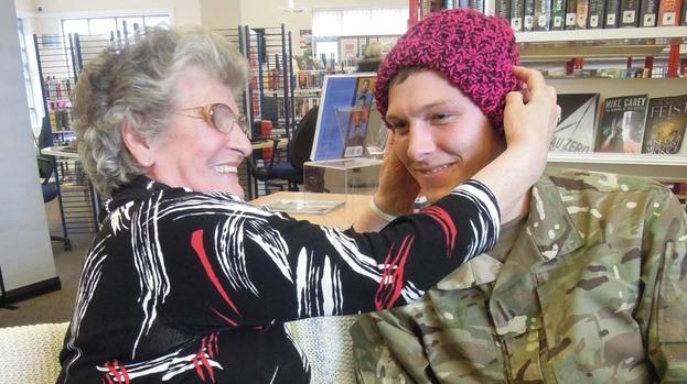Knitting Groups Edinburgh : Knitting group s nifty needlework will keep army warm this