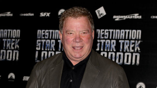 Star Trek's Captain Kirk, played by William Shatner, at the Destination Star Trek event in London.