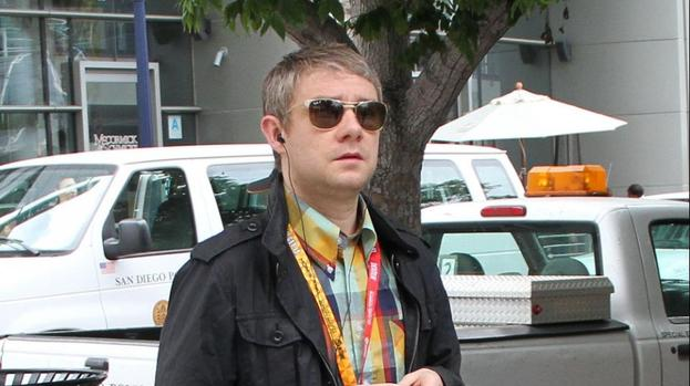Martin Freeman: 'Nothing will be bigger than The Hobbit'