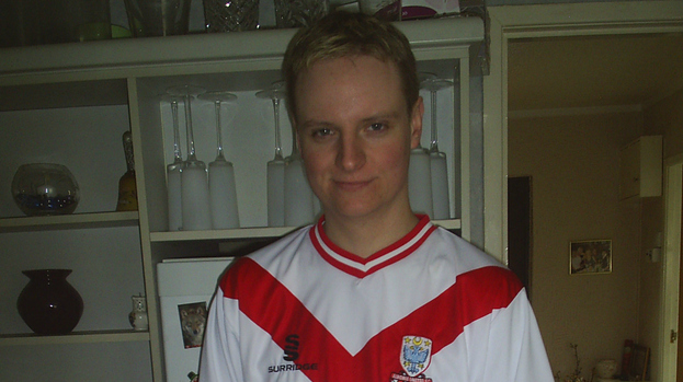David Hendrie Airdrie United Football Club fan blogger
