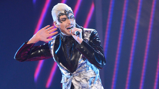 Rockin' and Rylan: singer put in another high-octane performance