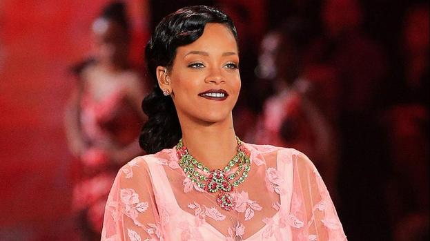 Rihanna feels insecure beside models