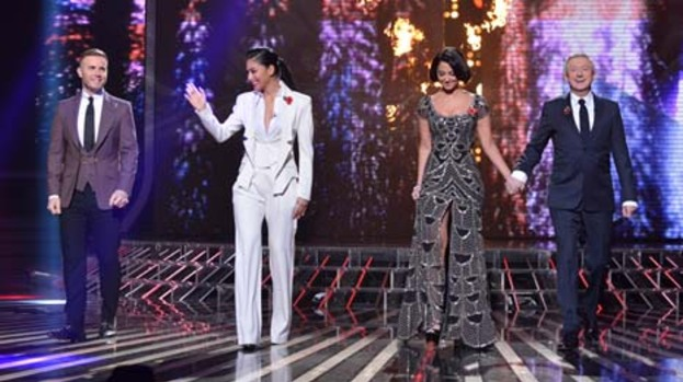 Wow factor: X Factor judges ramp up the style