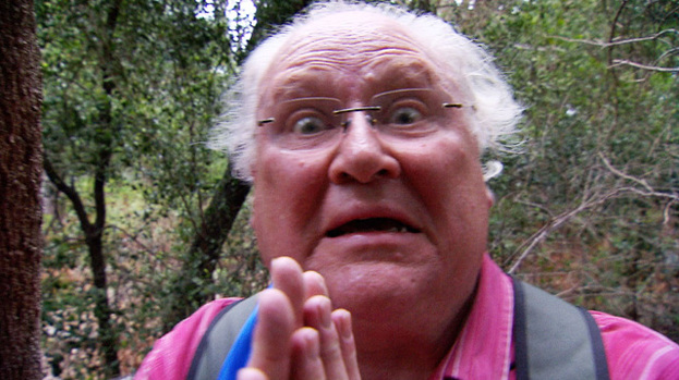 Colin Baker prays on I'm a Celebrity... Get Me Out of Here!