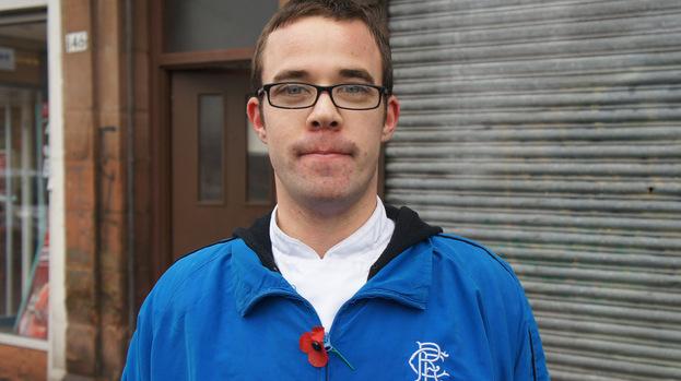 Rangers fan Stewart Provan