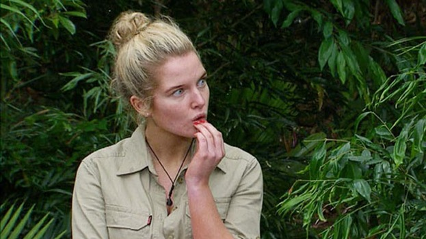 Jungle crying: Helen Flanagan wimps out of Bushtucker Trial