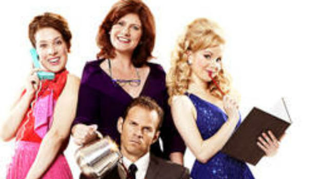 Jackie Clune, Natalie Casey, Ben Richards, Amy Lennox and Bonnie Langford star in  Dolly Parton's musical adaptation of movie 9 to 5