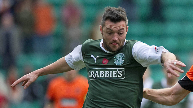 Ivan Sproule, Hibs, November 2012.