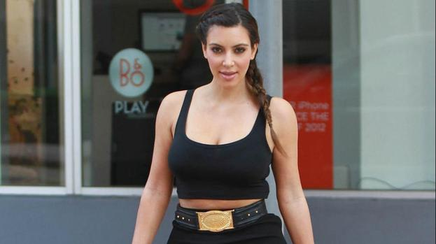 Kim Kardashian looks up to mom