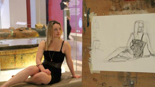 Art experience: Edinburgh artists join forces to get the city drawing.