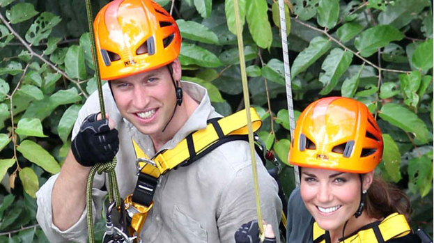 Kate and Wills Borneo