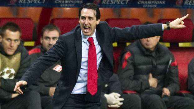 Unai Emery, Spartak Moscow, September 2012.