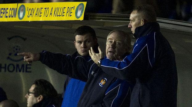 Kilmarnock manager Kenny Shiels.